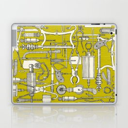 fiendish incisions chartreuse Laptop & iPad Skin