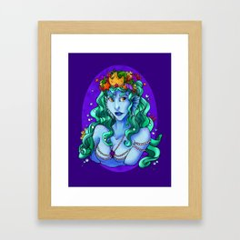Queen of the Sea Framed Art Print