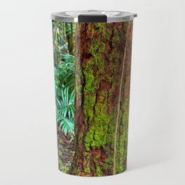 New and old rainforest growth Travel Mug
