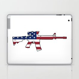 American Flag: M4 Assault Rifle Laptop & iPad Skin