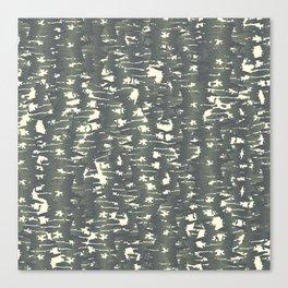 Brushstroke Textural Print Canvas Print