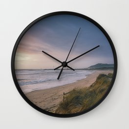 Rodanho beach, Viana do Castelo, Portugal. (II) Wall Clock