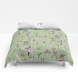 Animal Ballet Hipsters - Green Comforters