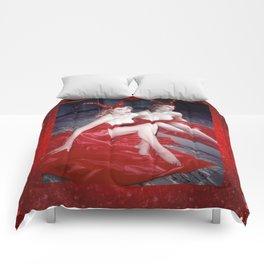 Femme Fatale - Anita Red Devil Glitter Comforters