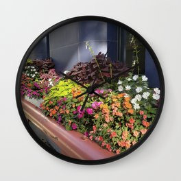 Madison WI Urban Color 1 Wall Clock