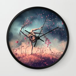 VIRGO from the Dancing Zodiac Wall Clock