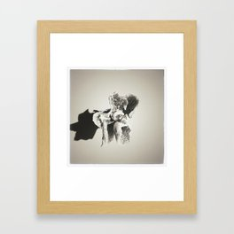 orchid flower Framed Art Print