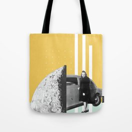Riding In Cars Tote Bag