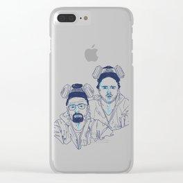 WALTER & JESSE Clear iPhone Case