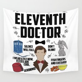 Eleventh Doctor Wall Tapestry