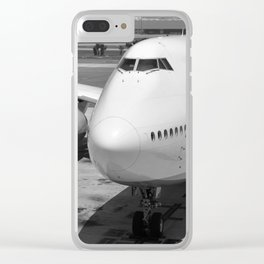 Aviation - II Clear iPhone Case