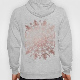 Dancing Mandala Rose Gold Hoody