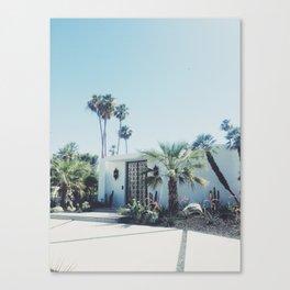 Palm Springs, Via Estrella Canvas Print