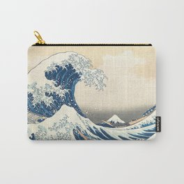 Japanese prints waves Carry-All Pouch