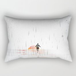 Just Run Rectangular Pillow