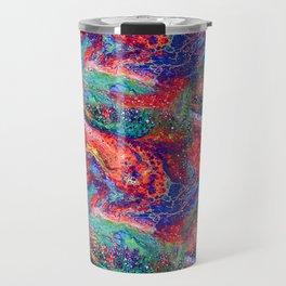 Rainbow Lava Travel Mug