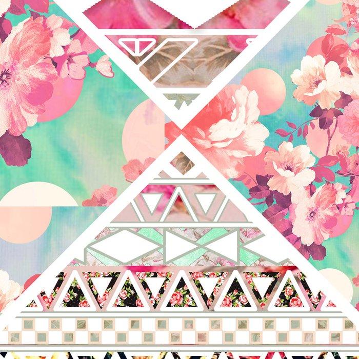 Aztec Floral  Diamond Leggings