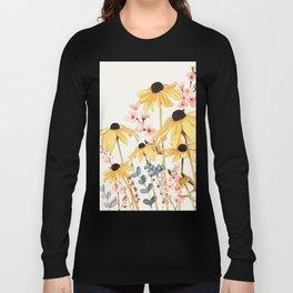 Summer Flowers Long Sleeve T-shirt