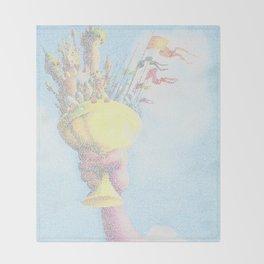 Monty Python & The Holy Grail. The Script Print! Throw Blanket
