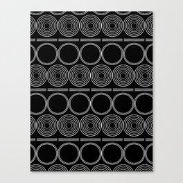 African pattern Canvas Print