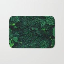 Fresh Tropical Greenery (Color) Bath Mat