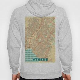 Athens Map Retro Hoody
