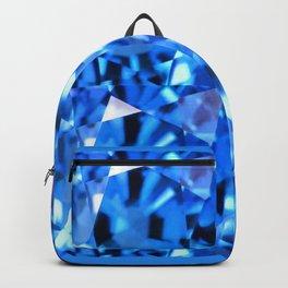 FACETED LONDON BLUE TOPAZ GEMSTONES Backpack