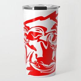 face7 red Travel Mug