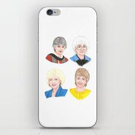 The Golden Girls iPhone Skin