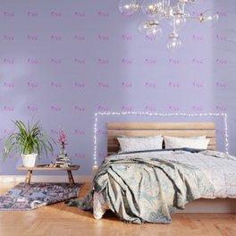 Resist - Pink & Blue Wallpaper