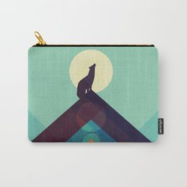 Howling Wild Wolf Carry-All Pouch