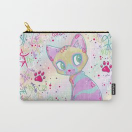 Mystical Little Kitty Carry-All Pouch