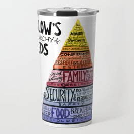 Maslow's Hierarchy of Needs Travel Mug