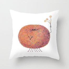 Poofy Streusel Throw Pillow