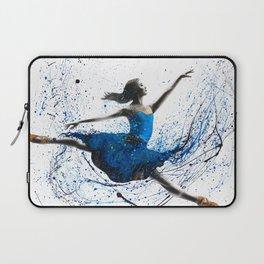 Blue Season Ballerina Laptop Sleeve