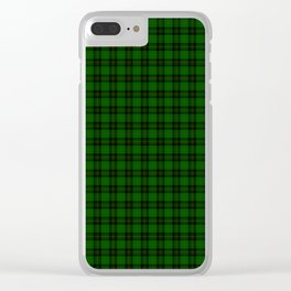 Forbes Tartan Clear iPhone Case
