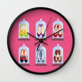 Shoes Wall Clock
