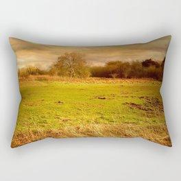 Windblown Field Rectangular Pillow