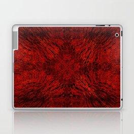 Motion Mandala Deep Red Laptop & iPad Skin