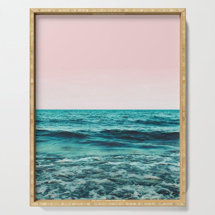 Ocean Love #society6 #oceanprints #buyart Serving Tray
