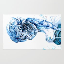 Queen of the White Walkers Rug