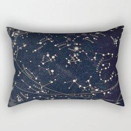 Constellation Chart Rectangular Pillow