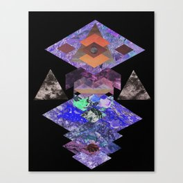 Samadhi (perfected concentration) Canvas Print