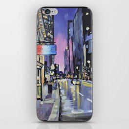 Evening Lights of the Burgh iPhone Skin