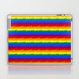 Mini Manhattan Skyline NY Pride Rainbow Stripe Laptop & iPad Skin