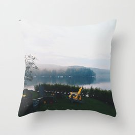 Muskoka before Dusk Throw Pillow
