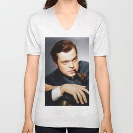 Orson Welles Unisex V-Neck