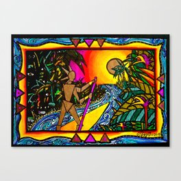 Jungle Adventure Canvas Print