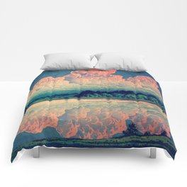 Admiring the Clouds in Kono Comforters