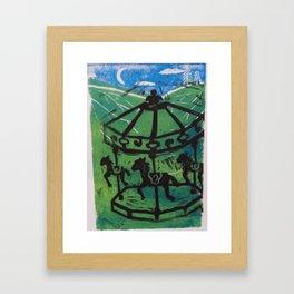 Carousel I Framed Art Print